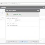 Fresh Cloud File Server - Web Portal - Share Files - Invite User to Share Guest User Permissions
