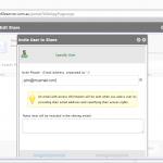 Fresh Cloud File Server - Web Portal - Share Files - Invite User to Share