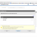 Fresh Cloud File Server - Web Portal - User Management - AD User Import